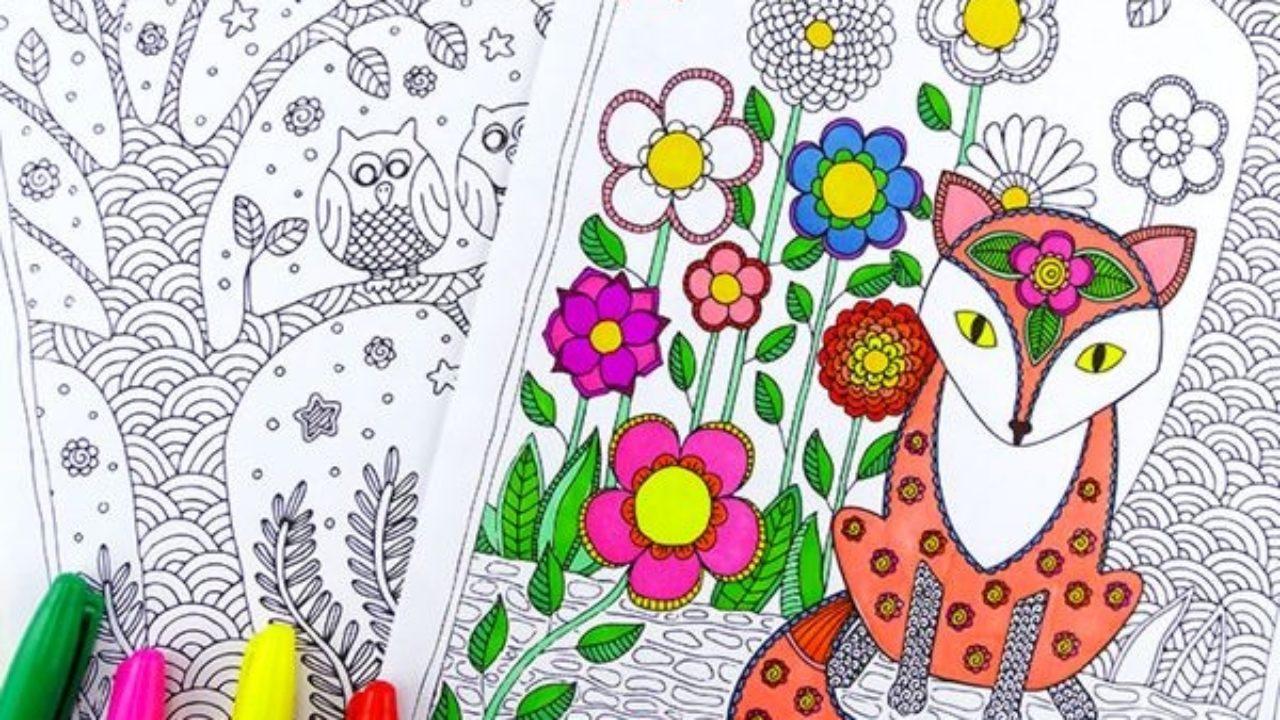 Libros De Colorear Para Adultos 5 Webs Para Imprimir