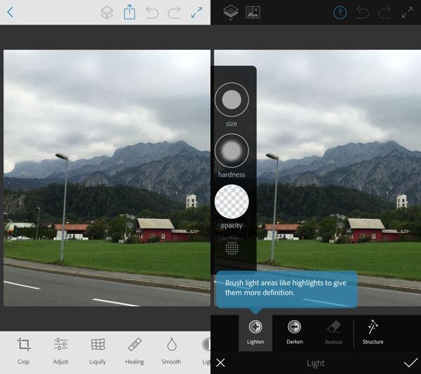 Photoshop Fix: las funciones más comunes de Photoshop, gratis en tu móvil o tablet