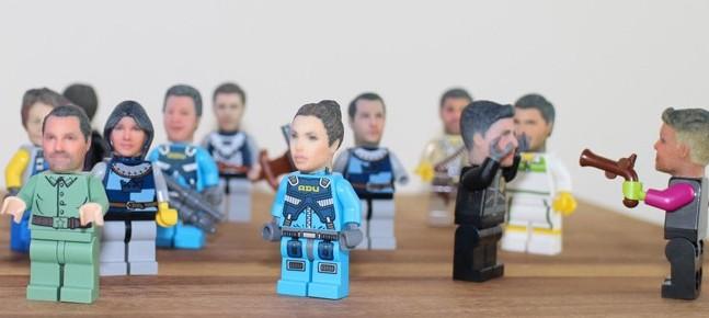 Una figura de Lego con tu cabeza en 3D a partir de 2 fotos