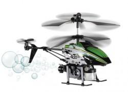 Bubblecopter: el helicóptero de juguete que lanza pompas de jabón
