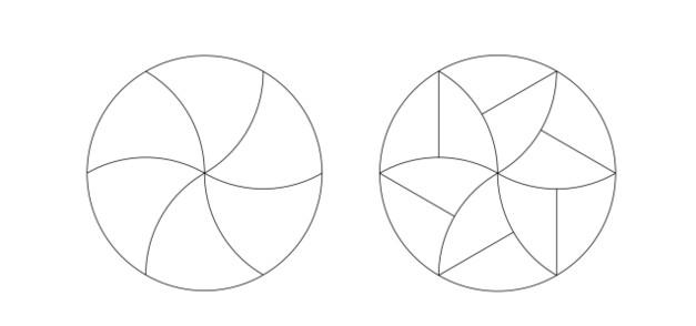 [TGIF] Cómo cortar la pizza en porciones matemáticamete idénticas