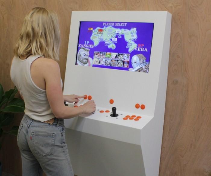 Polycade, una máquina recreativa que ocupa muy poco espacio