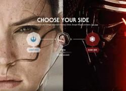 Vive el despertar de la fuerza de Star Wars… en Google
