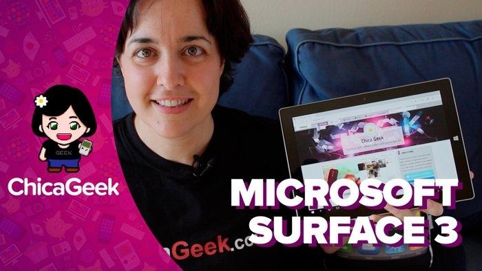 Vídeo: análisis de la Microsoft Surface 3