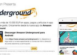 Amazon Underground, una nueva tienda de apps gratis de Android