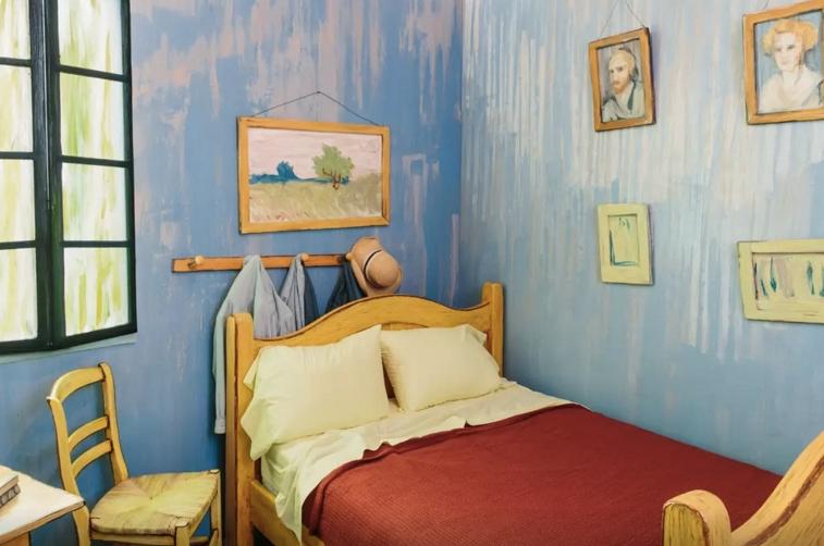 Ahora puedes alquilar la habitación de Van Gogh en Airbnb
