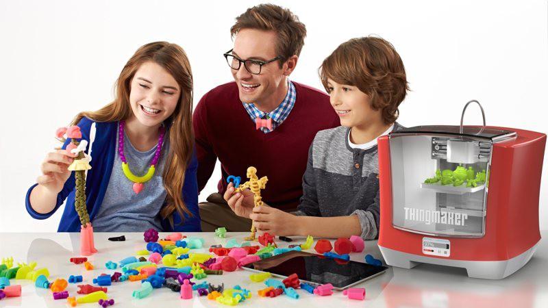ThingMaker, la impresora 3D de Mattel para crear juguetes a tu gusto