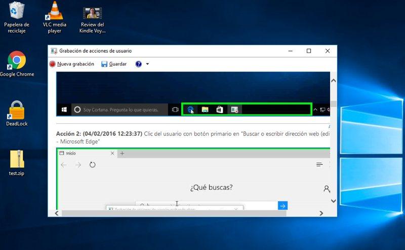 ¿Necesitas ayuda con Windows? Usa esta utilidad para grabar tus problema