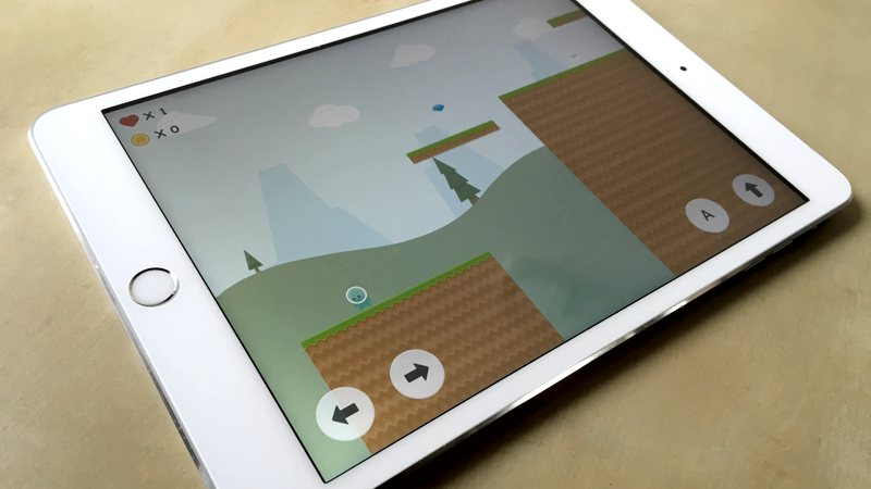 Crea tu propio videojuego en iPad con Toy Engine (aunque no sepas programar)