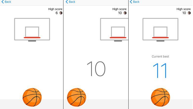 Descubre el juego de baloncesto oculto en Facebook Messenger
