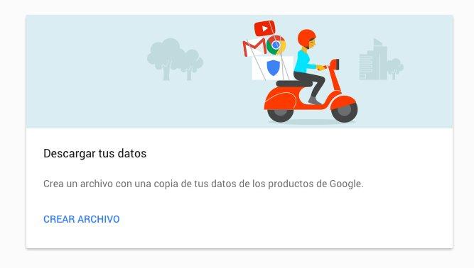 Mueve tus datos de Google a otros servicios online - o descárgalos a tu PC