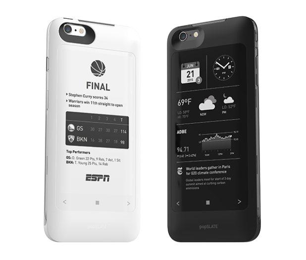 popSLATE 2, una funda que le añade una segunda pantalla a tu iPhone