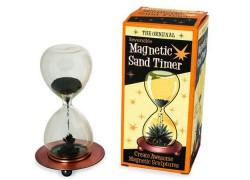Cautivador reloj de arena magnético