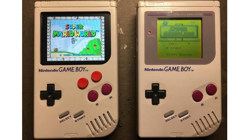 Esta Game Boy modificada con una Raspberry Pi permite jugar a un montón de juegos retro