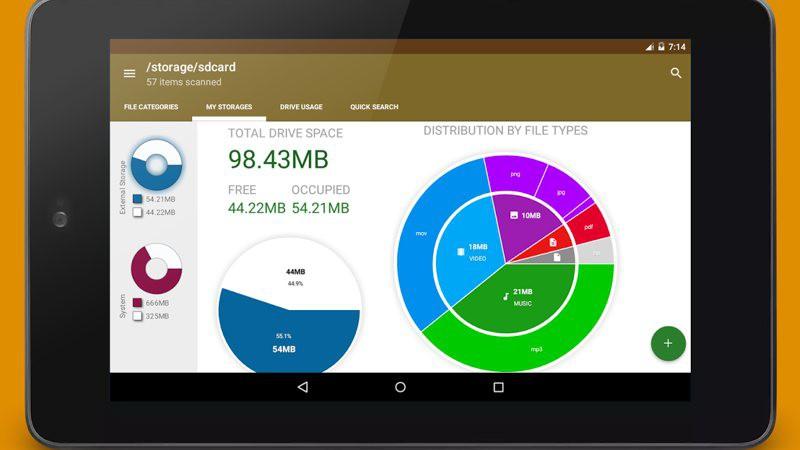 Cómo saber cuánto espacio libre tiene tu Android