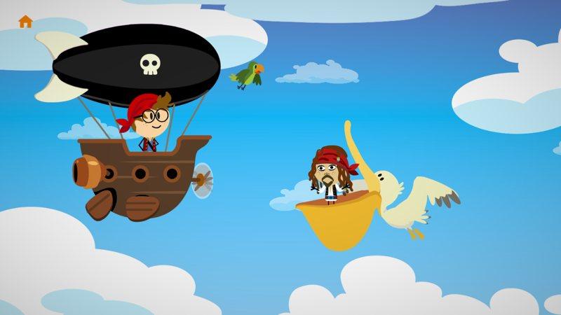 Comomola Piratas, un divertido cuento interactivo de piratas para los peques