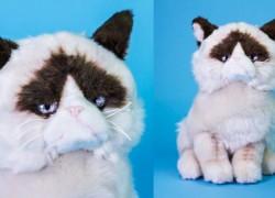 Ya puedes comprar el peluche de Grumpy Cat en Internet