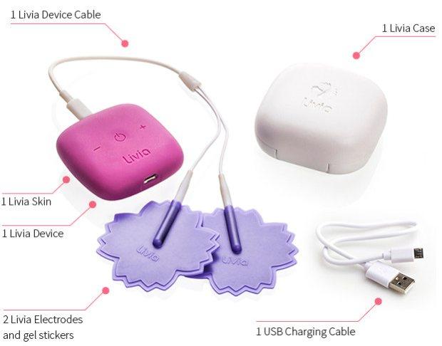 Livia, el gadget que elimina los dolores menstruales