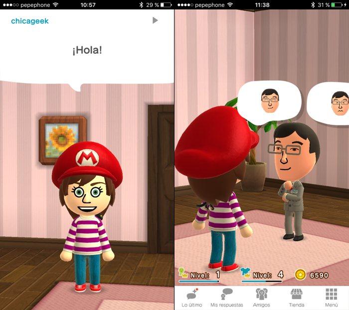 Miitomo, la primera app de móvil de Nintendo