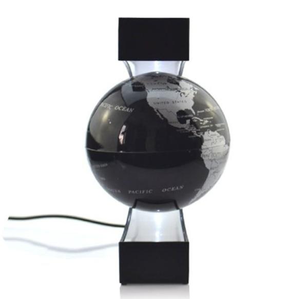 Globo terráqueo con levitación mediante magnetismo