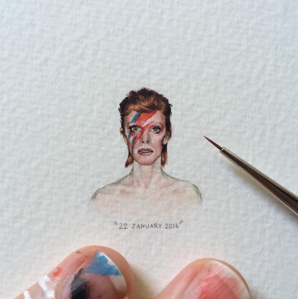 Esta chica comparte sus increíbles obras de arte diminutas en Instagram