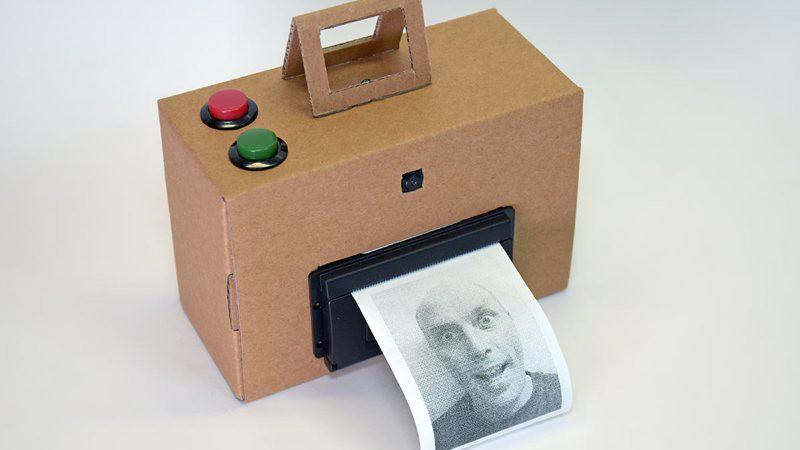 Construye una cámara instantánea estilo Polaroid con una Raspberry Pi