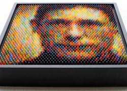 Arte creado con ceras de colores… pero no como crees