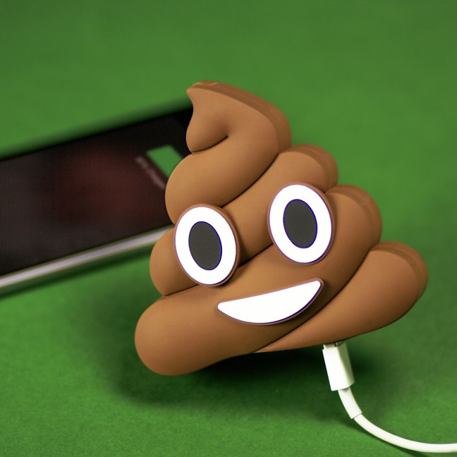 Carga tu móvil con estas baterías con formas de emoji