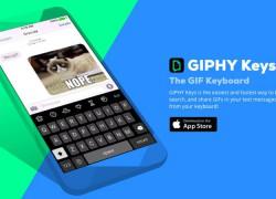 Todos los GIFs animados de Giphy, en este teclado para iPhone
