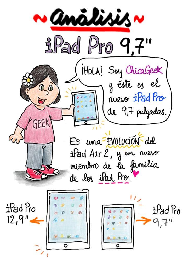 Análisis: iPad Pro de 9,7 pulgadas - ChicaGeek