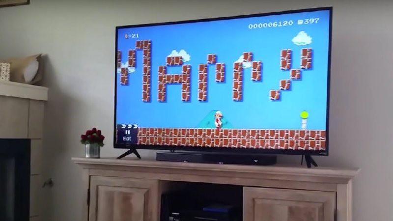 Una petición de mano geek en Mario Maker