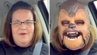 Se graba en vídeo con una máscara de Chewbacca y consigue más de 90 millones de reproducciones