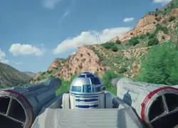 Impresionante persecución Star Wars hecha con drones