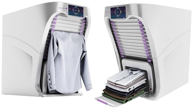 ¡Por fin! Una máquina que dobla ropa