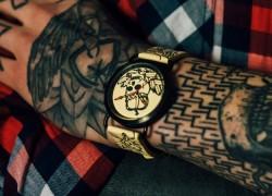 Inkwell: un reloj diferente inspirado en los tatuajes