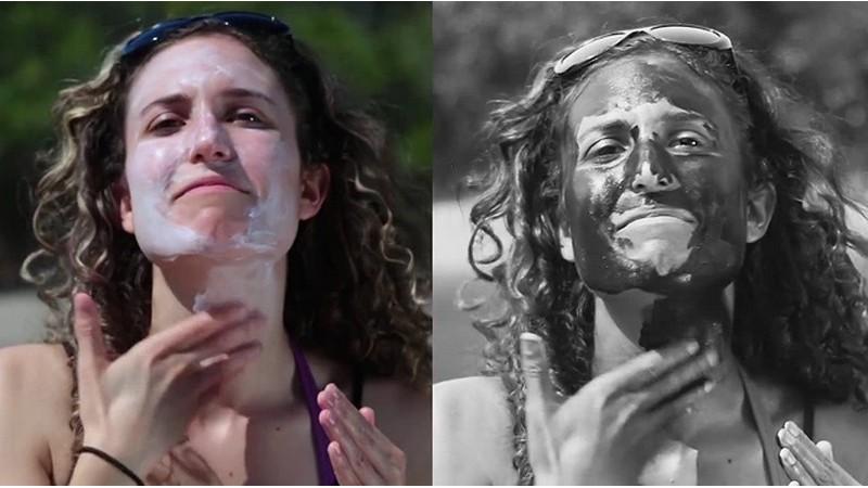 Sunscreenr: una cámara que te muestra si te has puesto suficiente protector solar