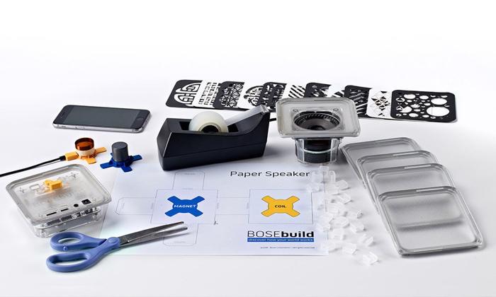 Kit de construcción de altavoces para niños de Bose