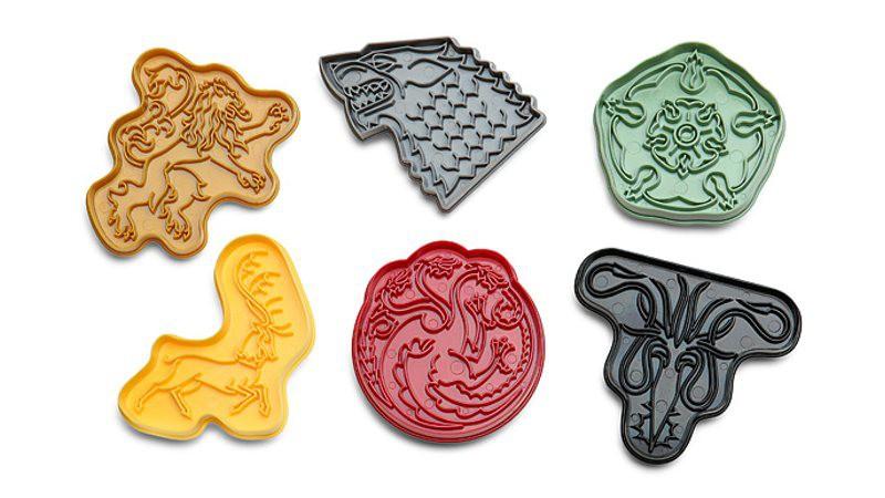 Moldes para hacer galletas de Juego de Tronos. Cookies are coming!
