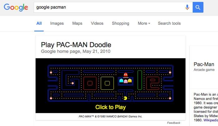 3 juegos ocultos en Google y otros huevos de pascua del buscador ...