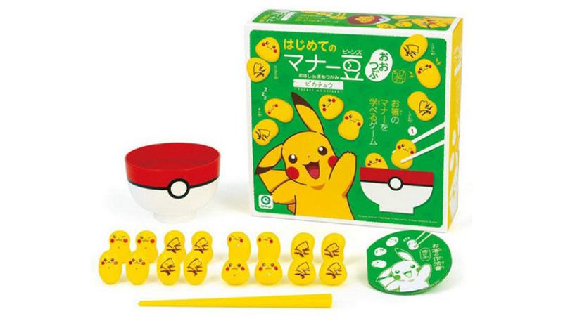 Captúralos a todos con este juego de palillos de Pikachu