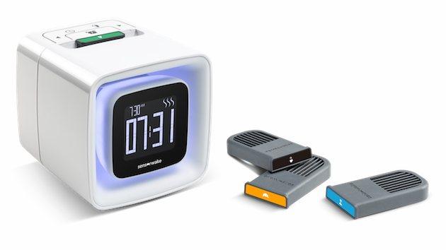 Madrugones menos duros con este despertador a base de aromas