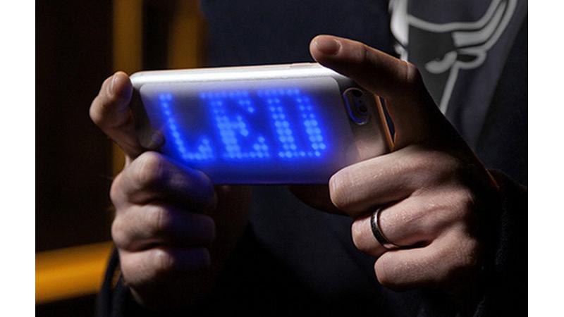 Funda con mensajes led para tu iPhone 6