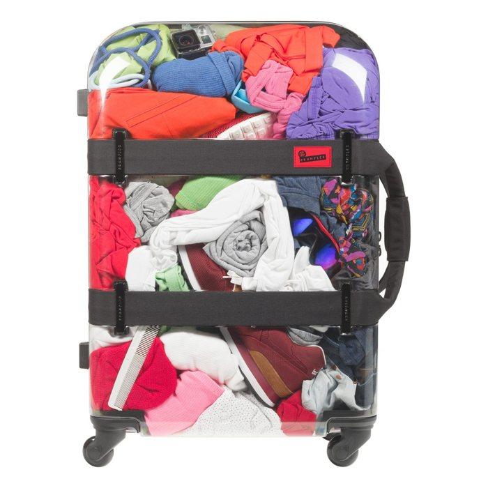 Vis-a-vis: una maleta transparente para tus viajes