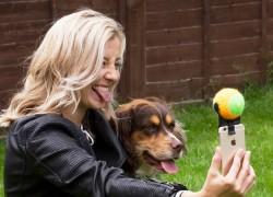 Un palo de «selfie» para tu perro