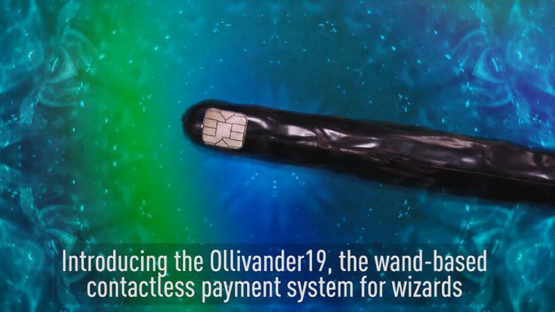 Paga tus compras con una varita de mago