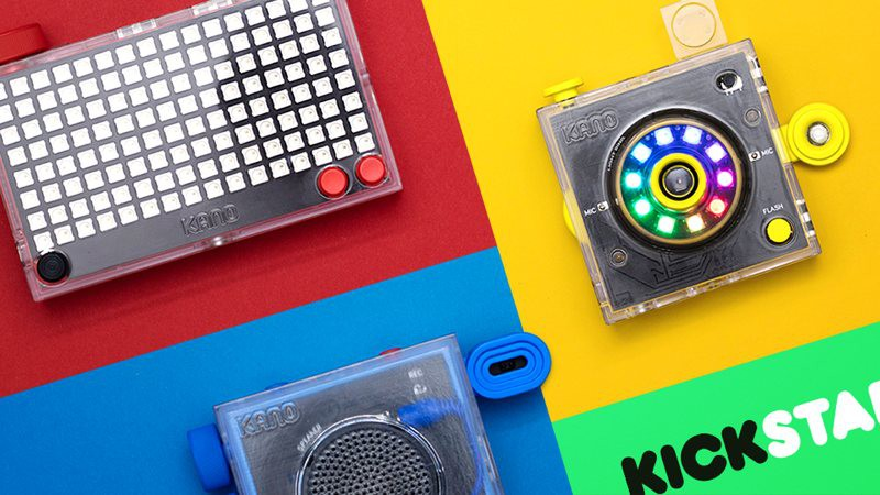 Kano vuelve con más gadgets: Camera Kit, Pixel Kit y Speaker Kit