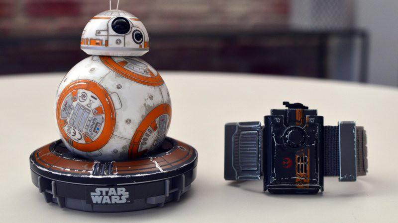 Force Band: controla tu Sphero BB-8 con gestos de la mano