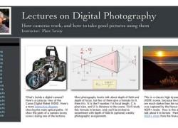 Un profesor de Stanford comparte gratis su curso universitario de fotografía online
