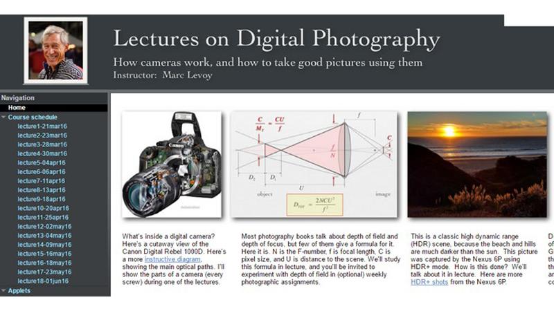 Profesor de Stanford comparte gratis un curso universitario de fotografía de 11 semanas