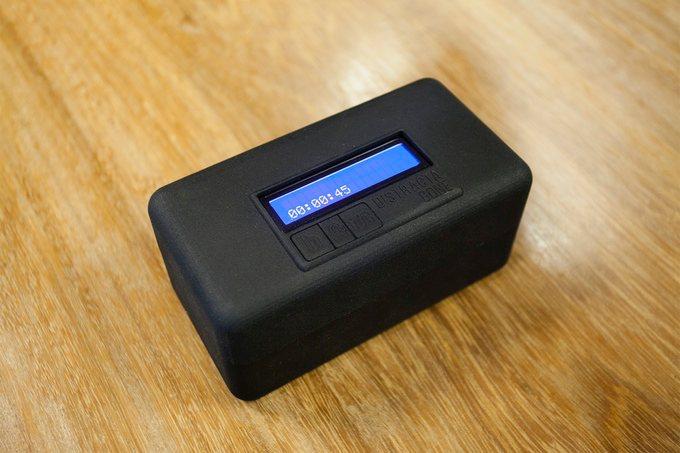 Distractagone, una caja para controlar la adicción al móvil